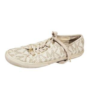 Michael Kors 10 Boerum Sneakers Shoes WORN Womens